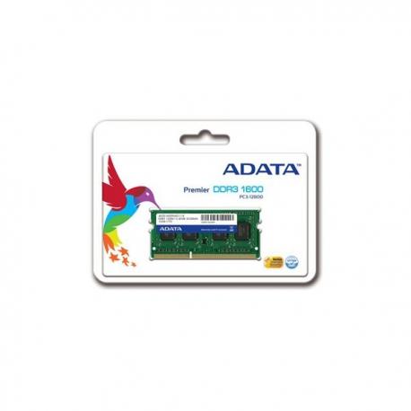 رم لپ تاپی  اي ديتا DDR3 1600 ظرفیت 4 گیگابایت