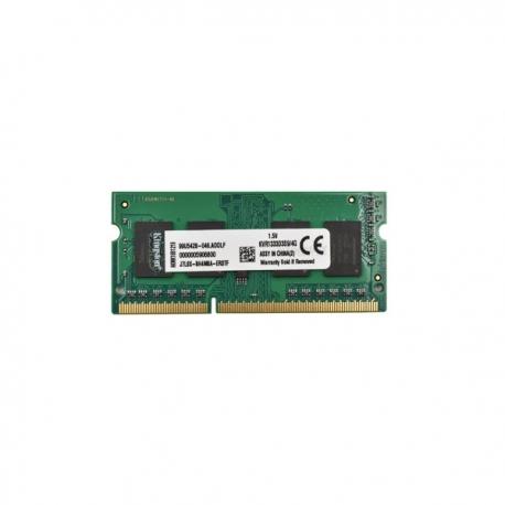 رم لپ تاپی کینگستون DDR3 1333 ظرفیت 4 گیگابایت
