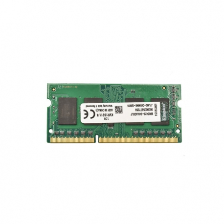 رم لپ تاپی کینگستون DDR3 1600 ظرفیت 4 گیگابایت