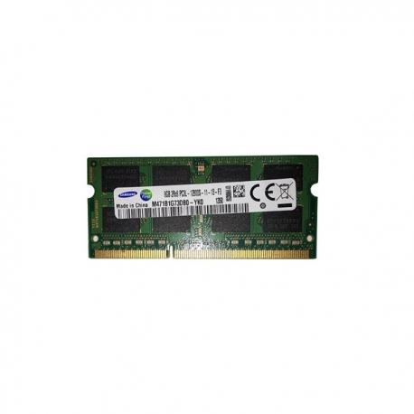 رم لپ تاپی سامسونگ DDR3 1600 ظرفیت 8 گیگابایت