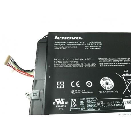 باتری 4 سلولی لپ تاپ Lenovo ThinkPad Helix