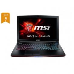 لپ تاپ استوک MSI GE62VR Apache Pro