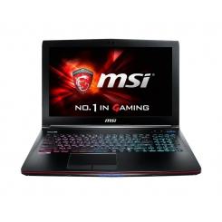 لپ تاپ دست دوم MSI GE62 Apache Pro