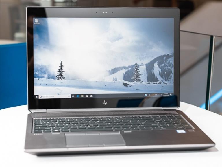 صفحه نمایش HP ZBook 15 G5