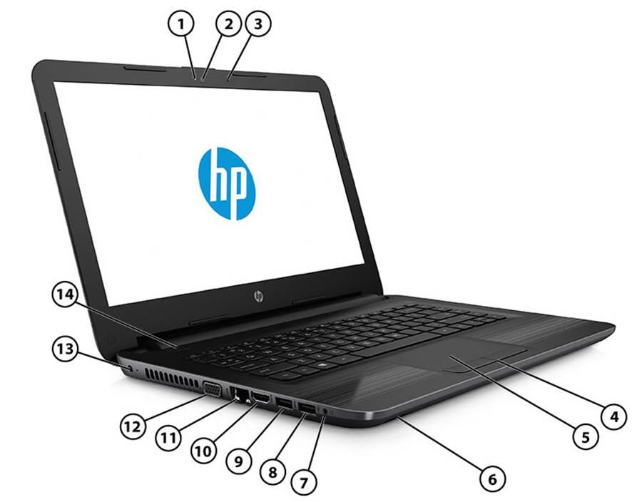 اتصالات HP 240 G5
