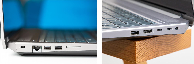 اتصالات HP ZBook 15 G5