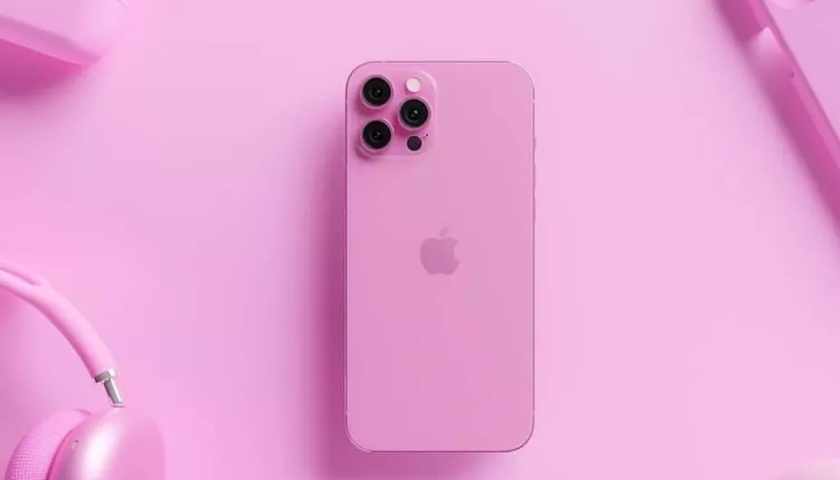 iphone13 pink render