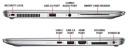 اتصالات لپ تاپ HP EliteBook Folio 1040 G3