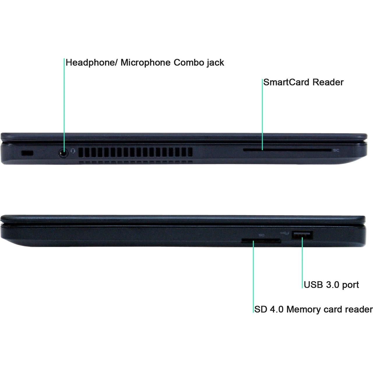 پورت های لپ تاپ Dell Latitude E5450