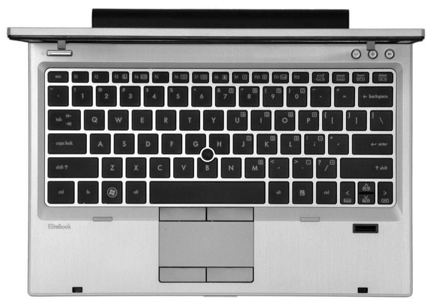 صفحه کلید لپ تاپ HP EliteBook 2570p