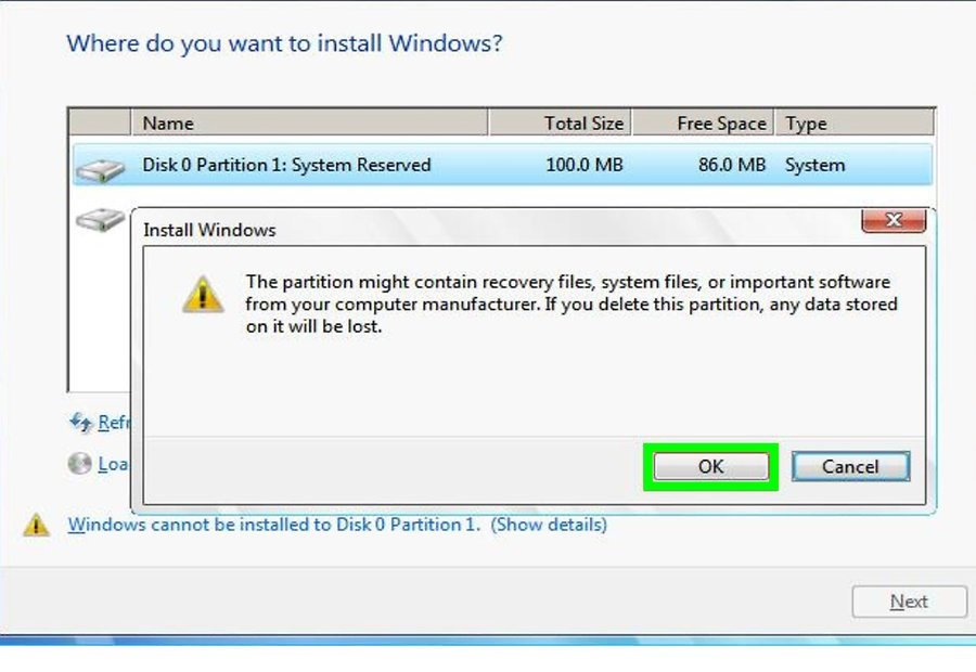 تنظیمات کارخانه لپ تاپ