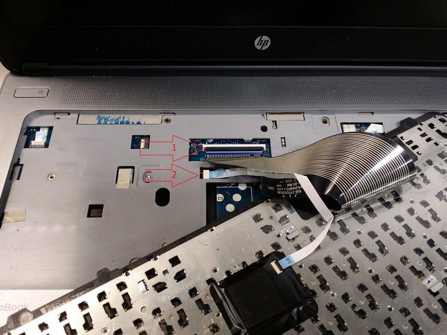 تعویض کیبورد لپ تاپ HP 645