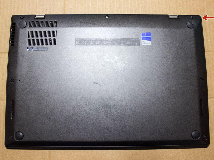 تعویض هارد لپ تاپ Lenovo ThinkPad x1