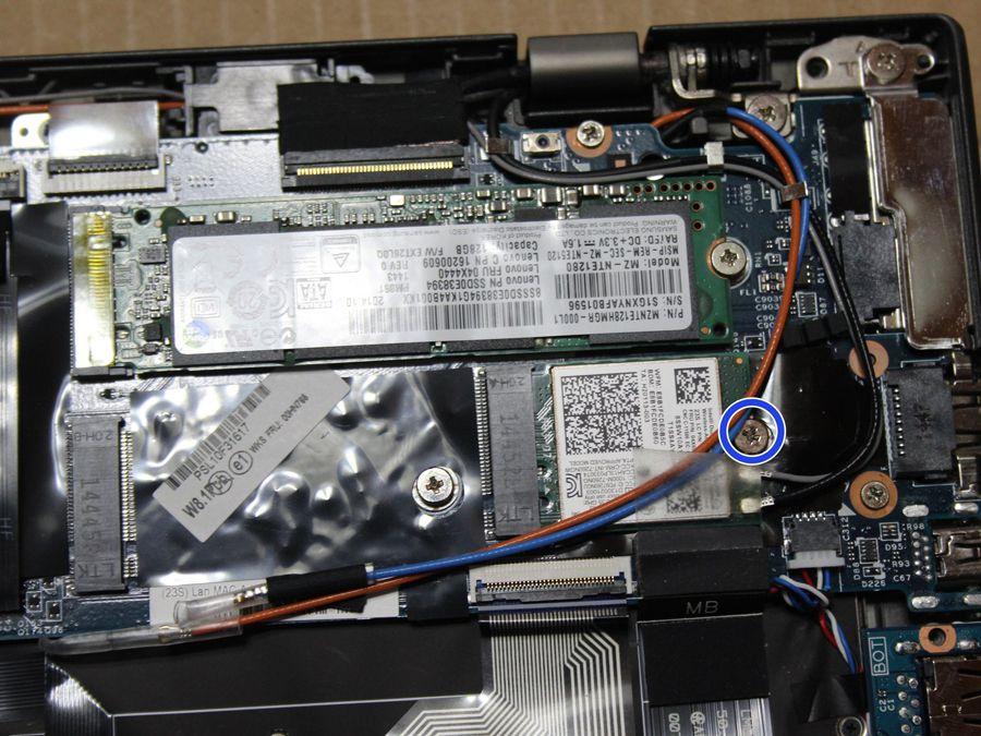 تعویض وای فای لپ تاپ ایکس وان کربن