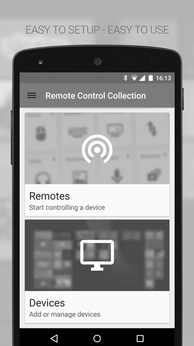 نرم افزار Mouse & Keyboard Remote