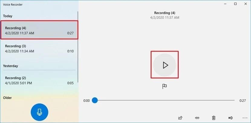 sound recording windows 3