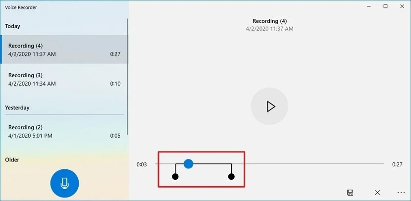 sound recording windows 5