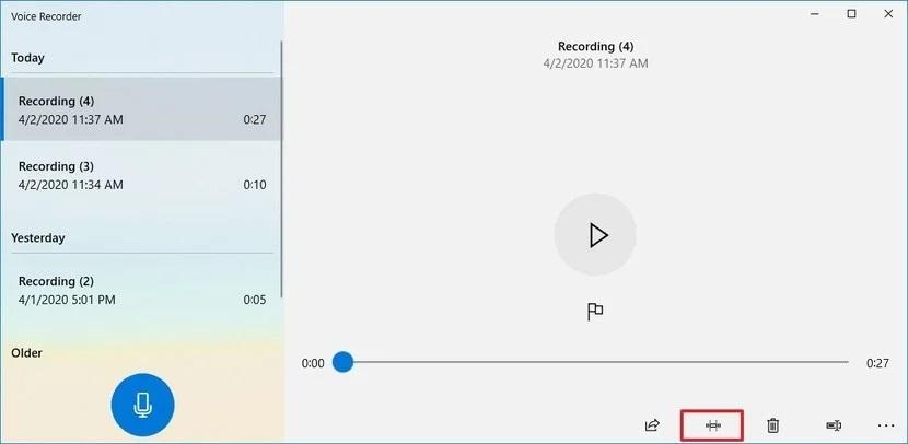 sound recording windows 4